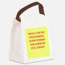 engineer Canvas Lunch Bag