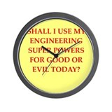 Engineer Wall Clocks