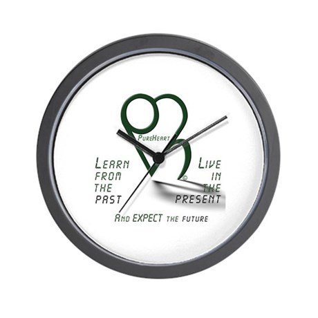 Learn from the Past Wall Clock