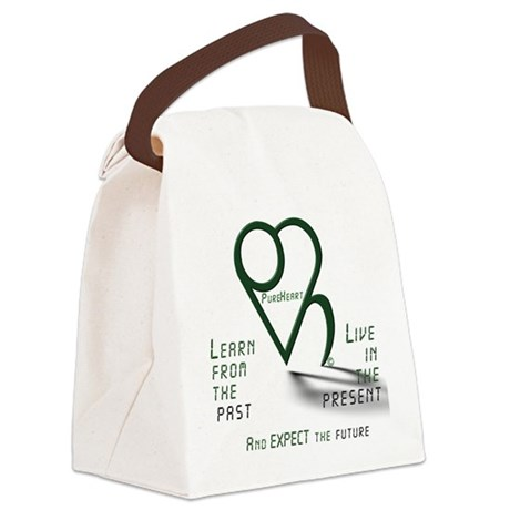 Learn from the Past Canvas Lunch Bag
