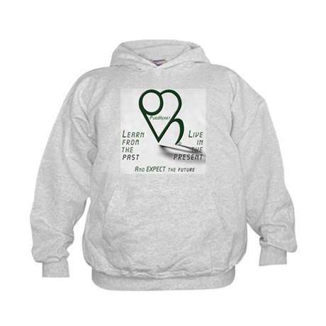 Learn from the Past Kids Hoodie