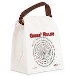NCIS GIBBS' RULES - Canvas Lunch Bag