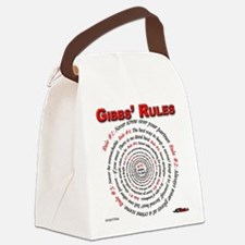 NCIS GIBBS' RULES - Canvas Lunch Bag