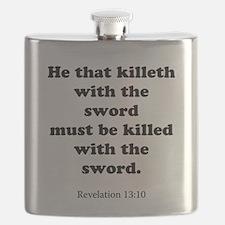 Revelation 13:10 Flask