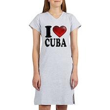 I Heart Cuba Women's Nightshirt