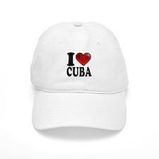 I Heart Cuba Baseball Cap