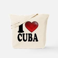 I Heart Cuba Tote Bag