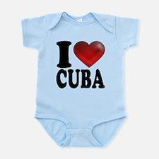 I Heart Cuba Infant Bodysuit