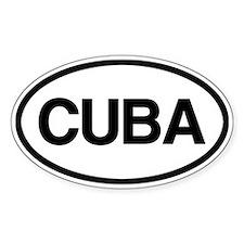 Cuba Decal