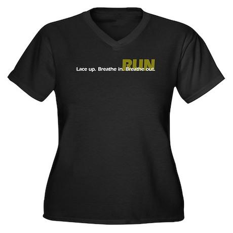 Run. Simply Run. Plus Size T-Shirt
