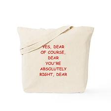 concescend Tote Bag