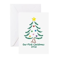 Our First Christmas 2012 Greeting Cards (Pk of 10)