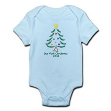 Our First Christmas 2012 Infant Bodysuit