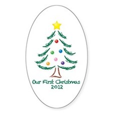 Our First Christmas 2012 Decal