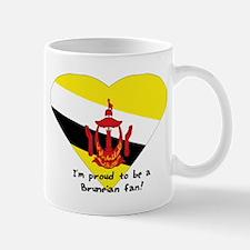 Brunei fan flag Mug