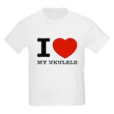 I Love My Ukulele T-Shirt