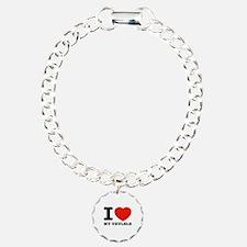 I Love My Ukulele Bracelet