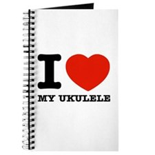 I Love My Ukulele Journal