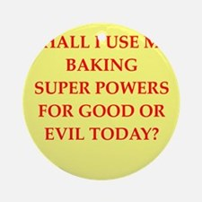 BAKING.png Ornament (Round)