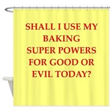BAKING.png Shower Curtain