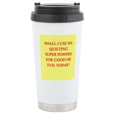 QUILTING.png Travel Coffee Mug