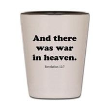 Revelation 12:7 Shot Glass