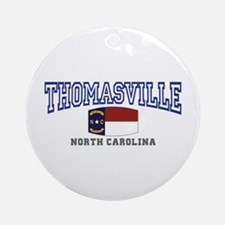 Thomasville, North Carolina NC USA Ornament (Round