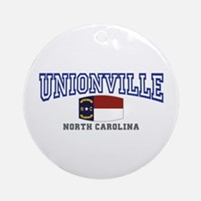 Unionville, North Carolina NC USA Ornament (Round)