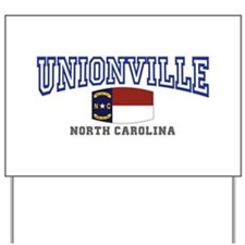Unionville, North Carolina NC USA Yard Sign