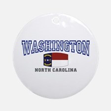 Washington, North Carolina NC USA Ornament (Round)