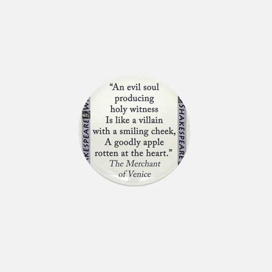 An Evil Soul Producing Mini Button