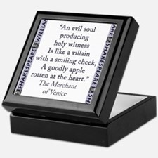 An Evil Soul Producing Keepsake Box