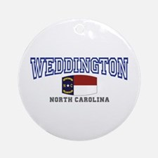 Weddington, North Carolina NC USA Ornament (Round)