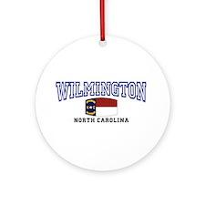 Wilmington, North Carolina NC USA Ornament (Round)