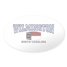 Wilmington, North Carolina NC USA Decal
