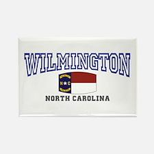 Wilmington, North Carolina NC USA Rectangle Magnet