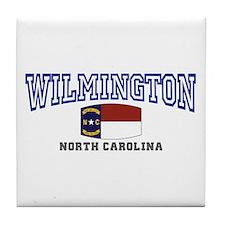 Wilmington, North Carolina NC USA Tile Coaster