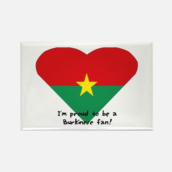 Burkina-Faso flag Rectangle Magnet
