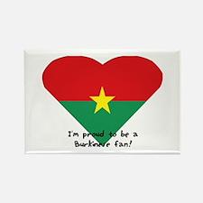 Burkina-Faso flag Rectangle Magnet (100 pack)