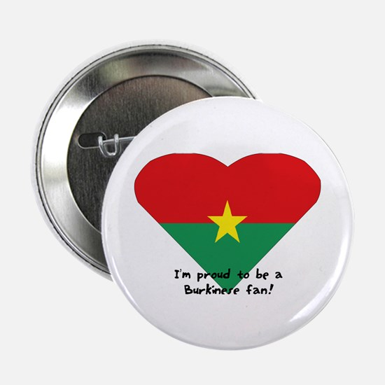 "Burkina-Faso flag 2.25"" Button (100 pack)"