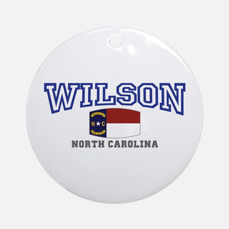 Wilson, North Carolina USA Ornament (Round)