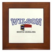Wilson, North Carolina USA Framed Tile