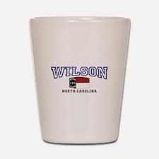 Wilson, North Carolina USA Shot Glass