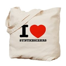 I Love Synthesizers Tote Bag