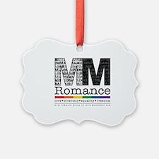 NEW M/M Romance Group Logo Ornament
