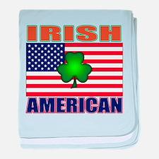 Irish American Pride baby blanket
