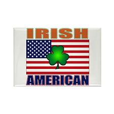 Irish American Pride Rectangle Magnet (10 pack)