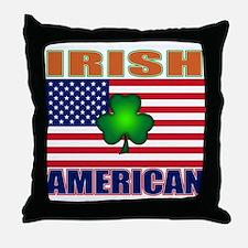 Irish American Pride Throw Pillow
