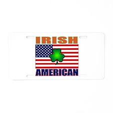 Irish American Pride Aluminum License Plate