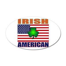 Irish American Pride Wall Decal